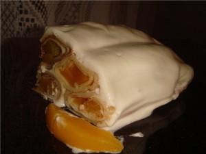Блинный торт с абриосами