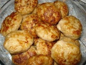 Картофельно-мясные котлетки