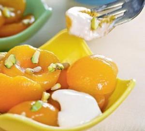 Абрикосовый десерт с орехами