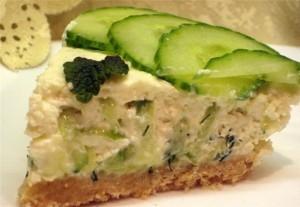 Закусочный сырный тор без выпечки
