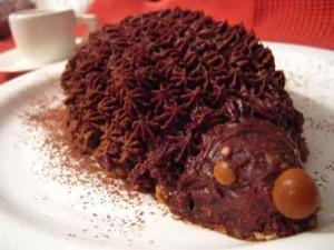 Торт «Ёжик» с орехами без выпечки