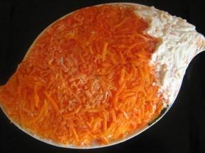 Салат «Лисий хвост»
